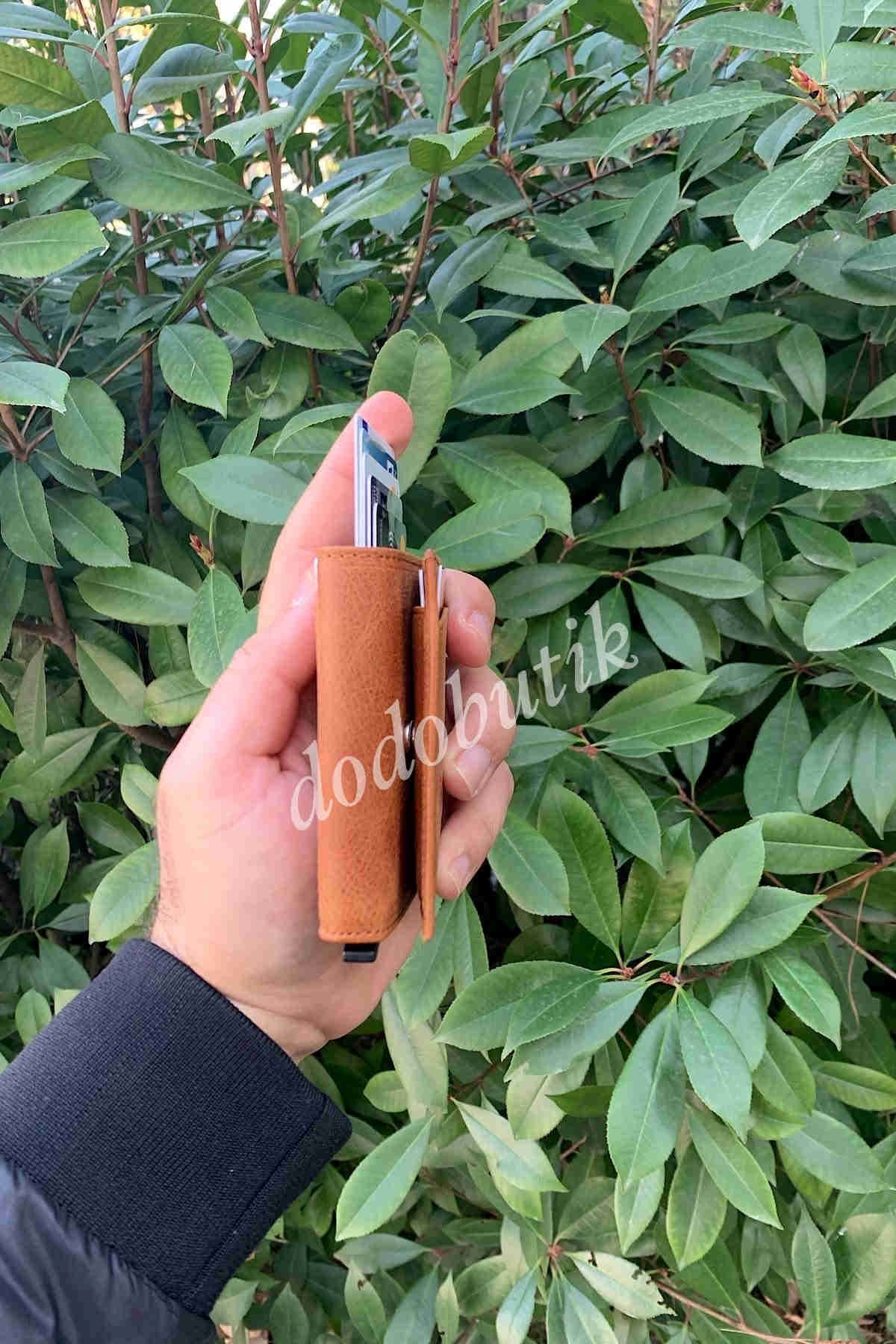 Natural Deri Taba Akıllı Cüzdan WP5550N