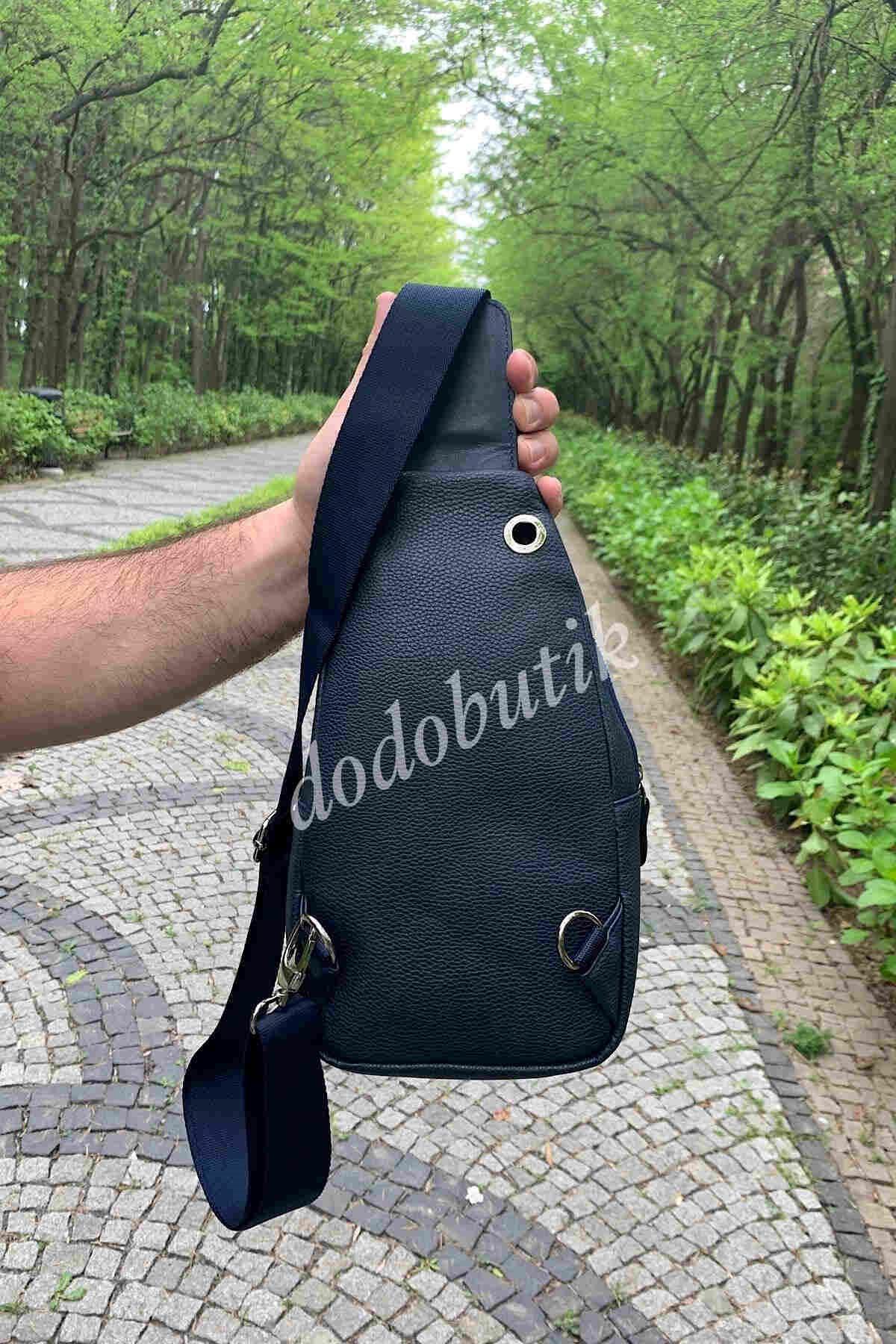 Lacivert Erkek Bodybag WP7006
