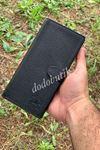 Siyah Deri Telefonlu Cüzdan WP877P